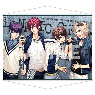 Dynamic Chord B2 Wall Scroll