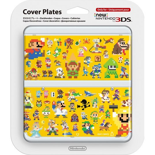 New Nintendo 3DS Cover Plates No.067 (Super Mario Maker)