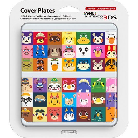 New Nintendo 3DS Cover Plates No.068 (Doubutsu no Mori)