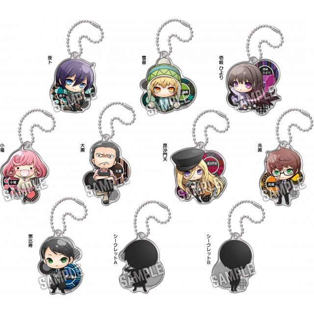 Noragami Aragoto Acrylic God Keychain (Set of 10 pieces)