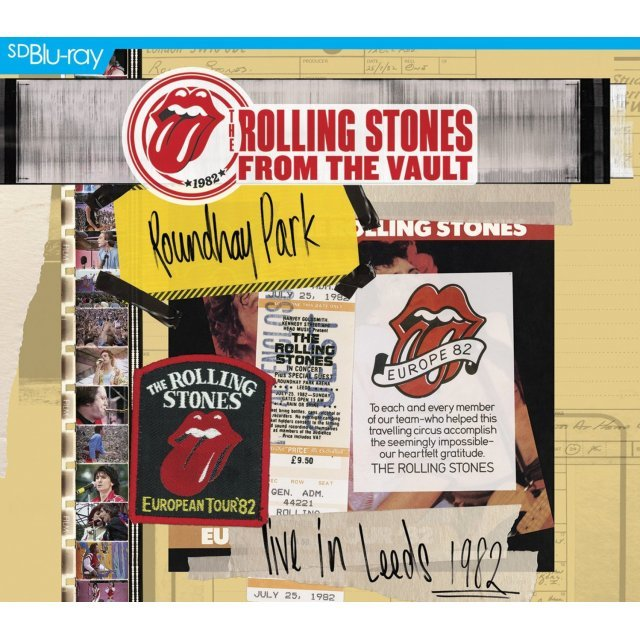 The Rolling Stones From the Vault: Live at Leeds [Blu-ray+CD]