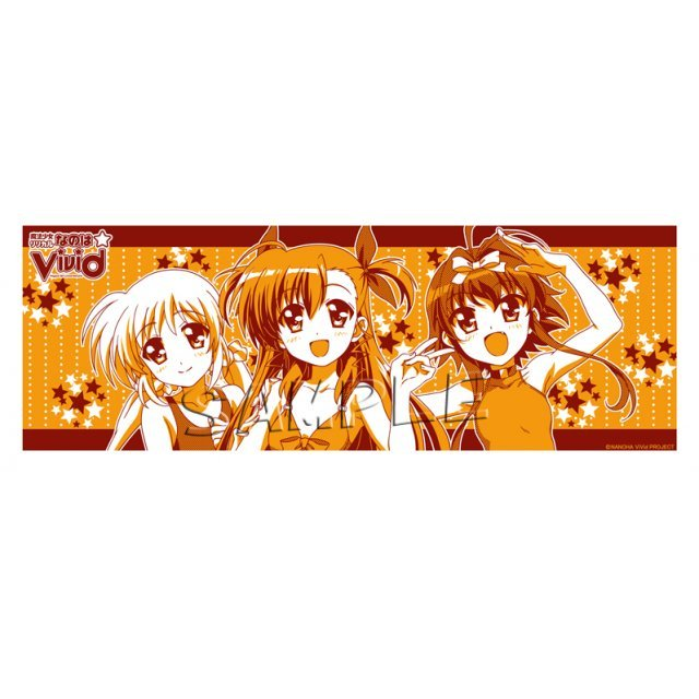 Magical Girl Lyrical Nanoha Vivid Washcloth B