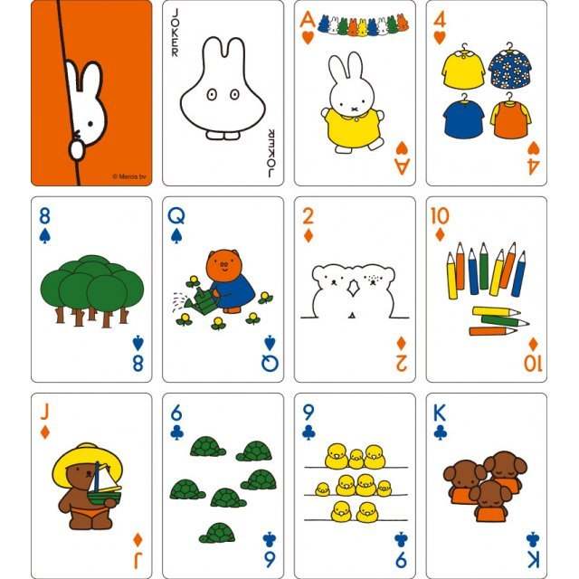 Miffy Playing Card Deck