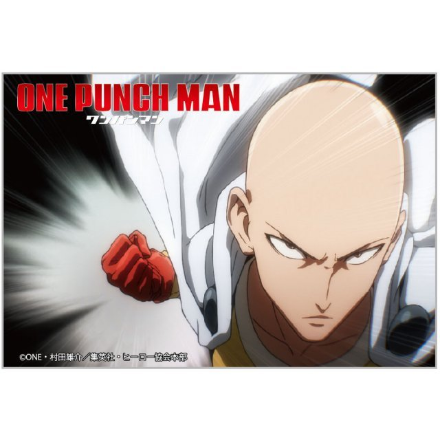 One-Punch Man Square Magnet: Saitama Punch Ver.