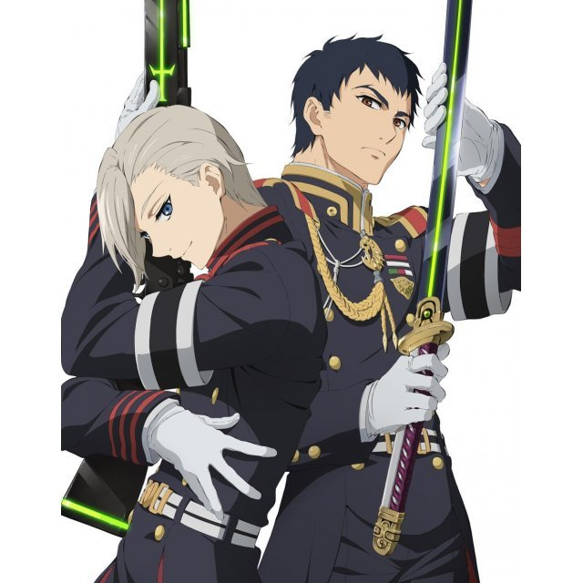 Seraph Of The End Nagoya Kessen Hen Vol.1 [DVD+Serafes Eizo Disc Limited Edition]