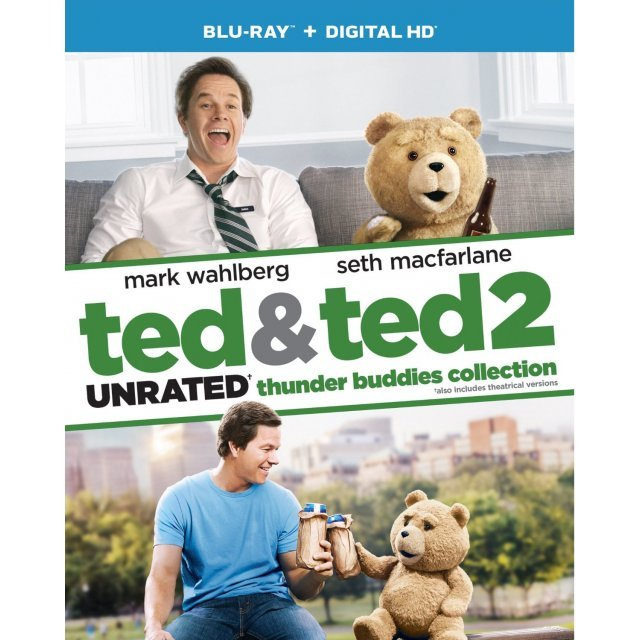 Ted & Ted 2 [Blu-ray+Digital HD]