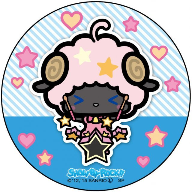 Show by Rock!! Can Badge Simple Design Ver.: Moa