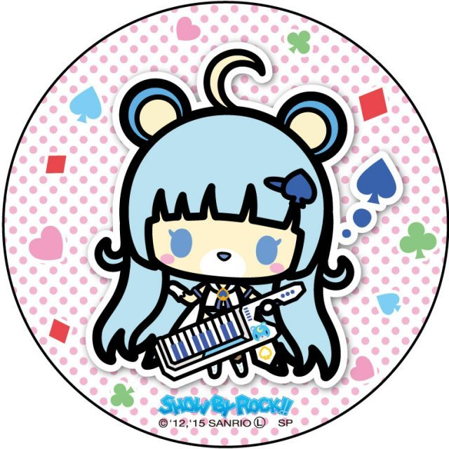 Show by Rock!! Can Badge Simple Design Ver.: Tsukino