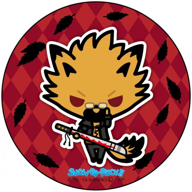 Show by Rock!! Can Badge Simple Design Ver.: Yaiba