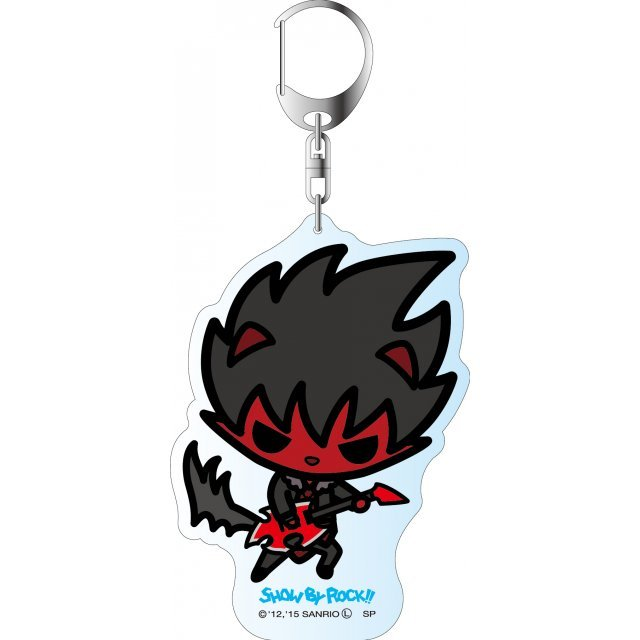 Show by Rock!! Deka Key Chain Simple Design Ver.: Crow