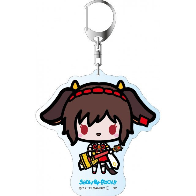 Show by Rock!! Deka Key Chain Simple Design Ver.: Holmy