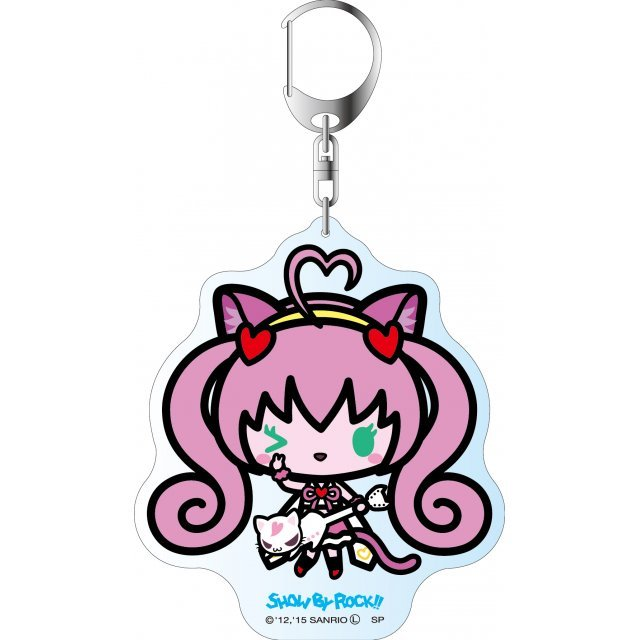 Show by Rock!! Deka Key Chain Simple Design Ver.: Rosier
