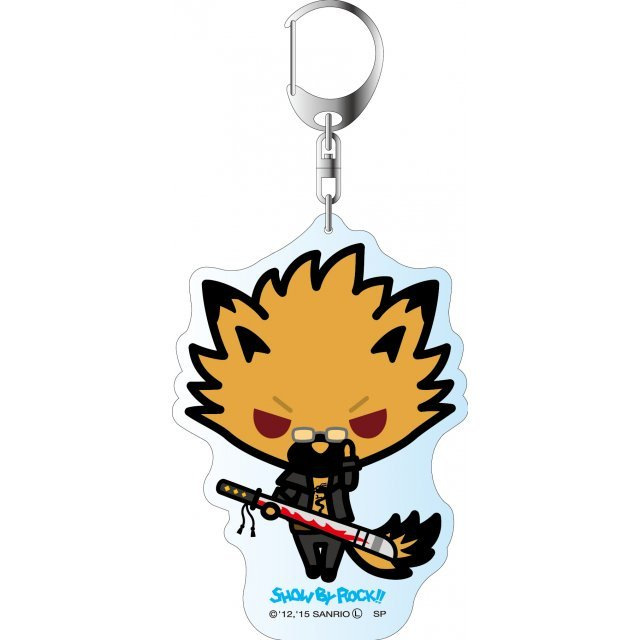Show by Rock!! Deka Key Chain Simple Design Ver.: Yaiba