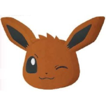 Pokemon XY & Z Rounded Big Cushion: Eevee Wink Ver.