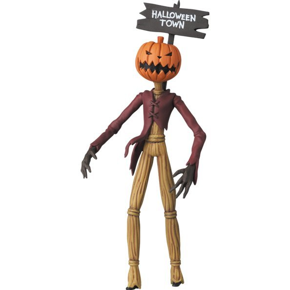 Ultra Detail Figure The Nightmare Before Christmas Jack Collection: Pumpkin King
