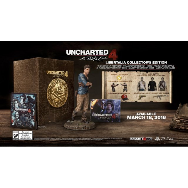 Uncharted 4: A Thief's End [Libertalia Collector's Edition] (Chinese & English Subs)