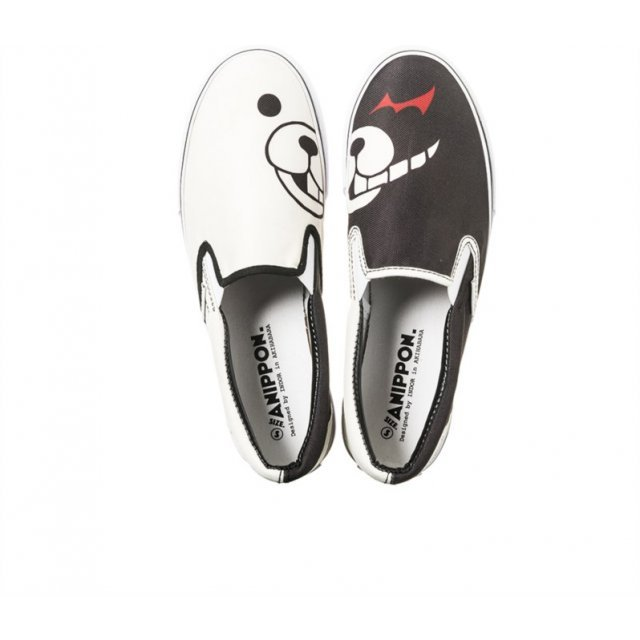 Danganronpa 1-2 Sneakers ANIPPON Collaboration L: Monokuma Model