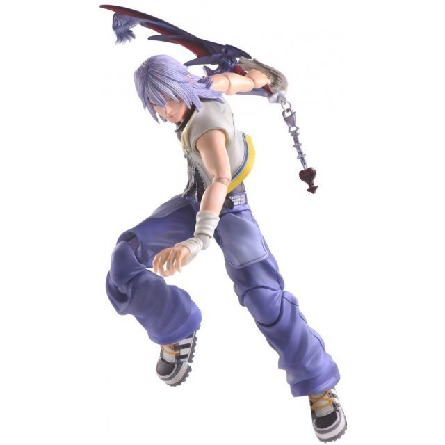 Kingdom Hearts II Play Arts Kai: Riku