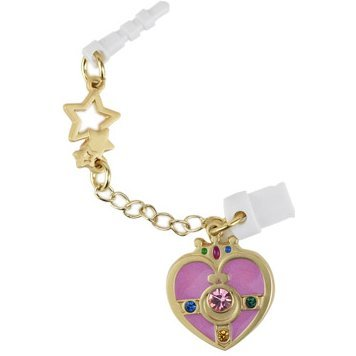 Sailor Moon Charm Charapin Double Plug Type: Cosmic Heart Compact