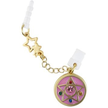 Sailor Moon Charm Charapin Double Plug Type: Crystal Star Compact