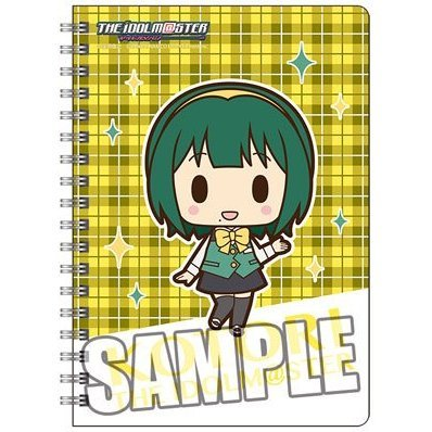 The Idolmaster Ring Notebook B6 W: Otonashi Kotori Mini Chara Ver.