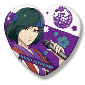 The Idolmaster SideM Heart Can Badge: Kiyosumi Kuro