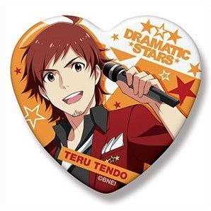 The Idolmaster SideM Heart Can Badge: Tendo Teru