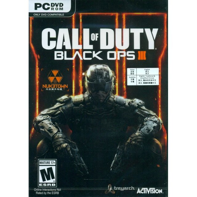 Call of Duty: Black Ops III (DVD-ROM) (English)