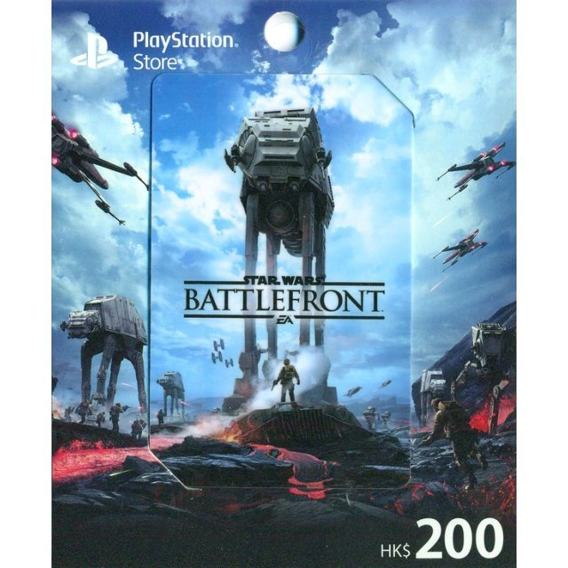 PlayStation Network Card / Ticket (200 HKD / for Hong Kong network only) [Star Wars: Battlefront Edition]