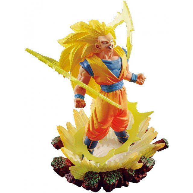 Dracap Memorial 03 Dragon Ball Super Pre-Painted PVC Figure: Super Saiyan 3 Son Goku