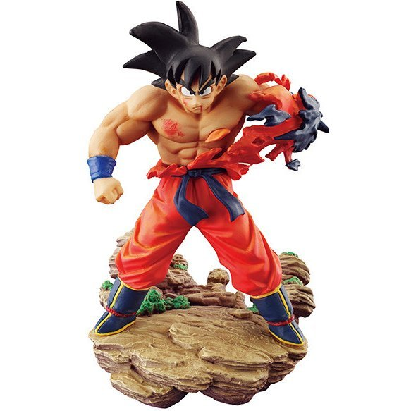 Dracap Memorial 01 Dragon Ball Super Pre-Painted PVC Figure: Son Goku