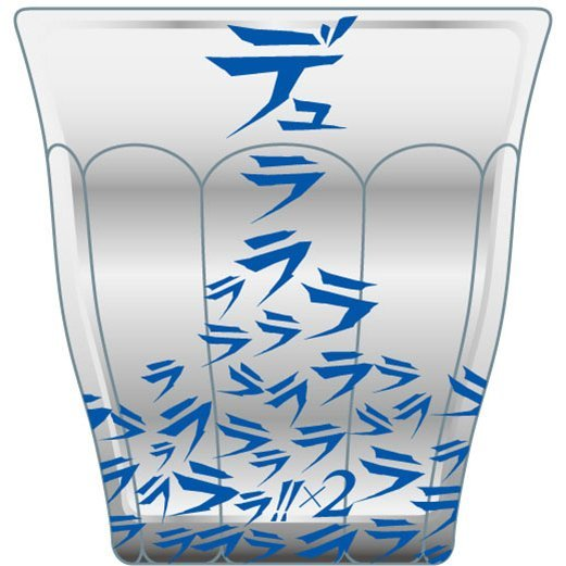 Durarara!!x2 x LHP Duralex Collaboration Glass: Logo Pattern
