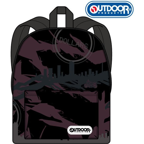 Durarara!!x2 x LHP Outdoor Products Collaboration Daypack: Ikebukuro Pattern