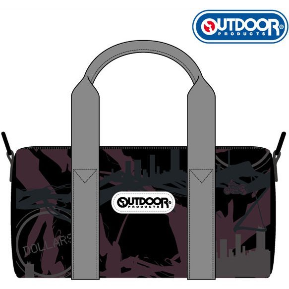 Durarara!!x2 x LHP Outdoor Products Collaboration Mini Boston Bag: Ikebukuro Pattern
