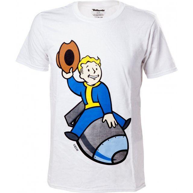Fallout 4 Vault Boy Bomber T-Shirt