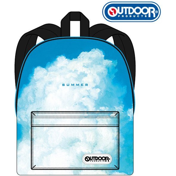 The Boy and the Beast x Outdoor Products Daypack: Blue Sky