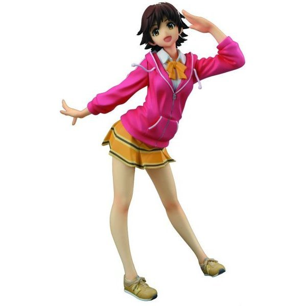World Uniform Operation The Idolm@ster Cinderella Girls 1/10 Scale Pre-Painted PVC Figure: Honda Mio