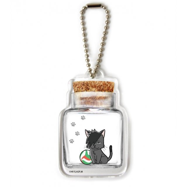 Haikyu!! Second Season Bottle Chara Holder 01: Kuroo Cat