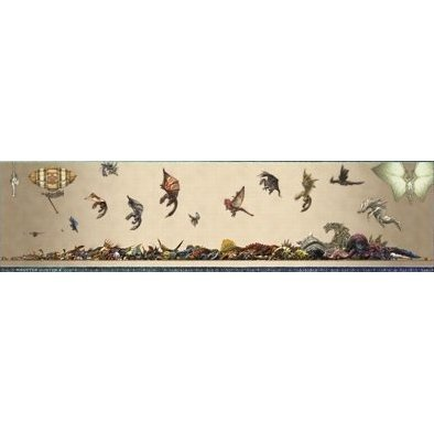 Monster Hunter X Monster Size Chart Poster
