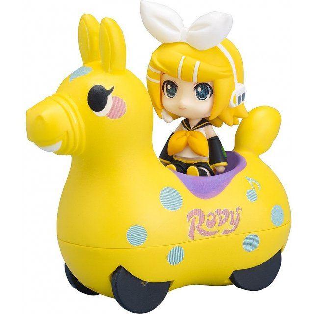Nendoroid Plus Hatsune Miku x CuteRody Pullback Cars: Kagamine Rin & CuteRody (Lemon)