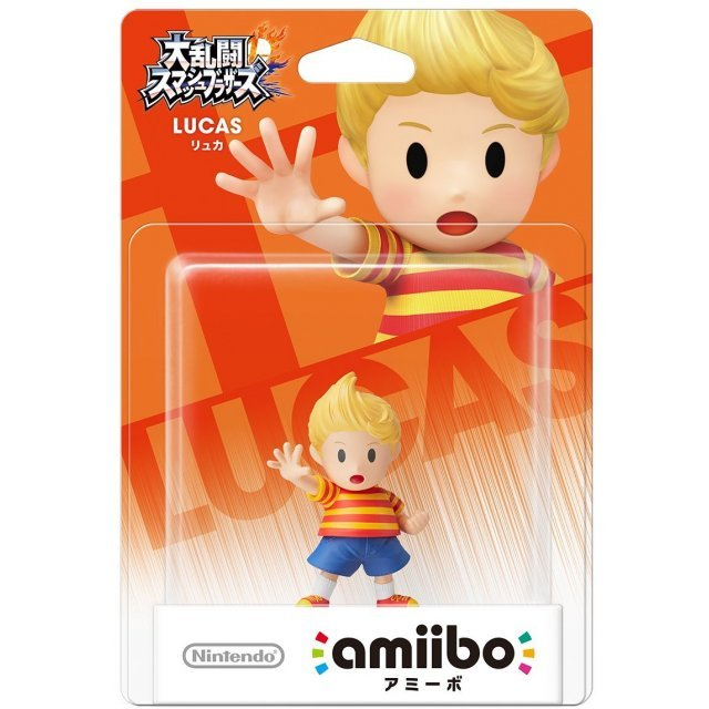 amiibo Super Smash Bros. Series Figure (Lucas) (Re-run)