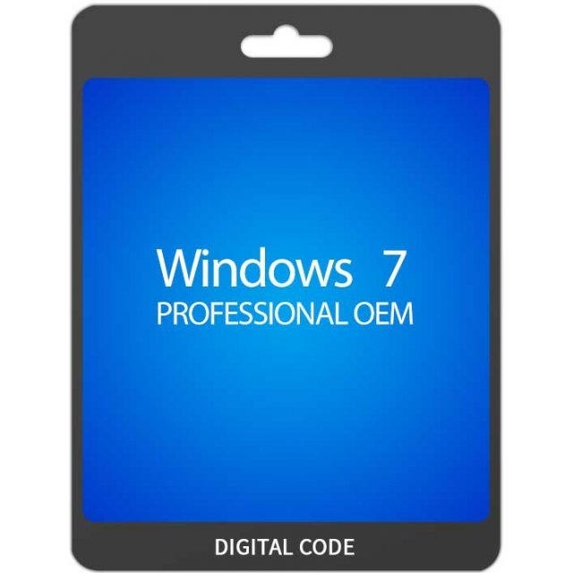 Microsoft Windows 7 Pro 32/64-bit, OEM (KEY ONLY)