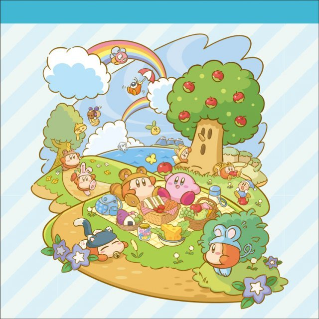 Kirby's Dream Land Square Memo: Picnic