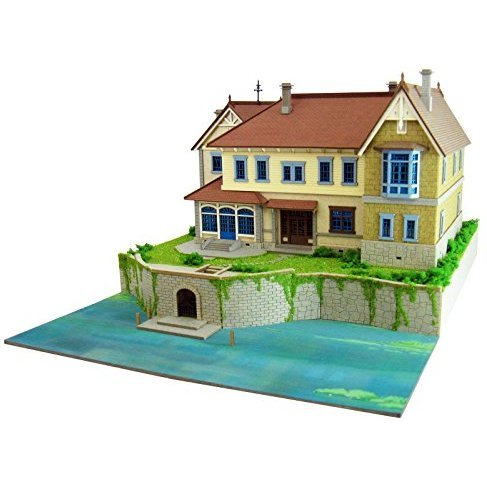 Miniatuart Kit Studio Ghibli Series When Marnie Was There 1/220 Scale Papercraft: Mansion