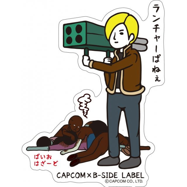 CAPCOM x B-SIDE LABEL Sticker: Biohazard Leon (Re-run)
