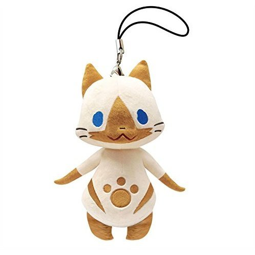 Monster Hunter X Monster Mini Mascot Plush: Airou