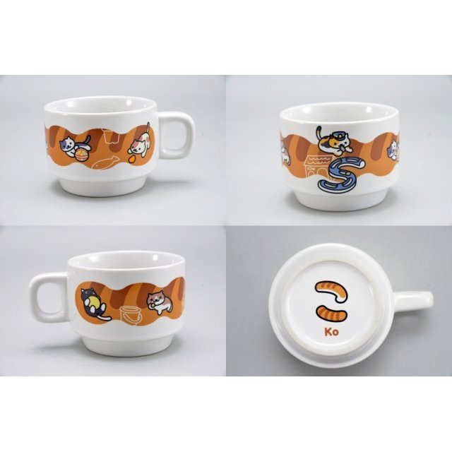 Neko Atsume Stacking Mug: Ko