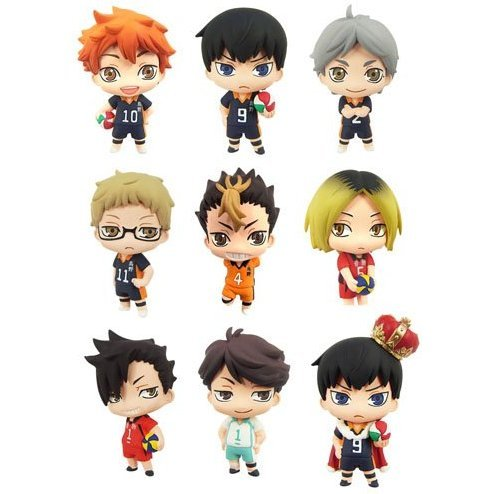 Color Collection Haikyu!! (Set of 8 pieces) (Re-run)
