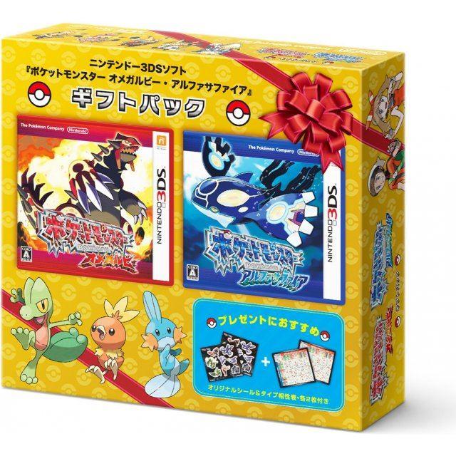 Pokemon Omega Ruby/Alpha Sapphire [Gift Pack]