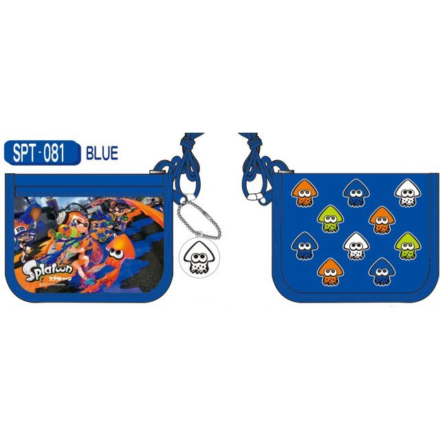 Splatoon RF Wallet Blue SPT-081